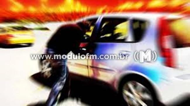 Veículo Fiat Strada é furtado em Patrocínio