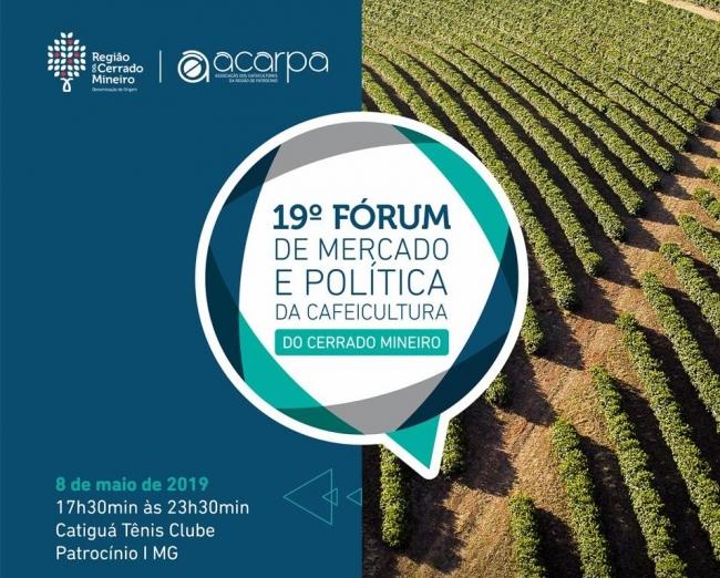 Fórum de Mercado e Política da Cafeicultura tem sua 19ª edição realizada pela ACARPA