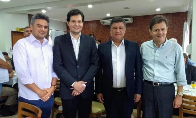 Vice-prefeito de Patrocínio Gustavo Brasileiro recebe convite do senador Carlos Viana para se filiar ao PSD