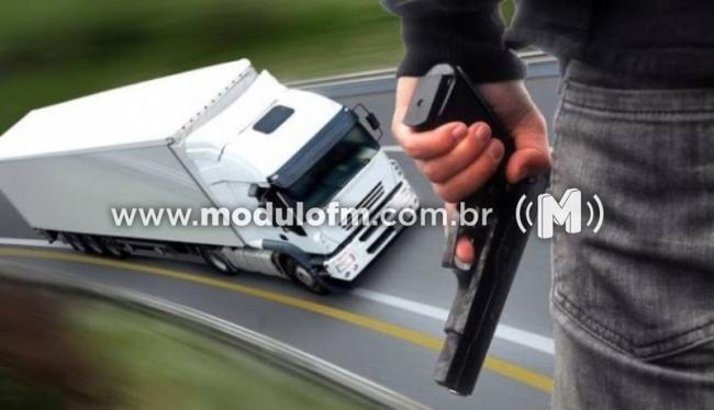 Assaltantes rendem motorista e roubam carga de salgadinho YOKY