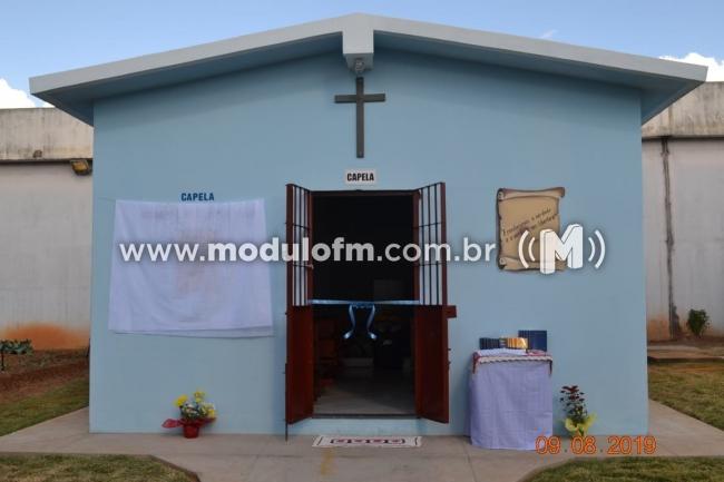 Capela é inaugurada na penitenciária de Patrocínio