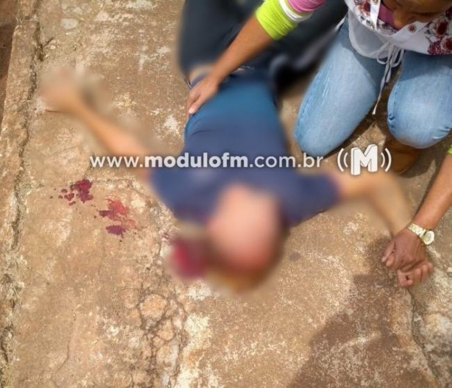 Estudante de 15 anos é atingido a pedrada na cabeça em porta de escola