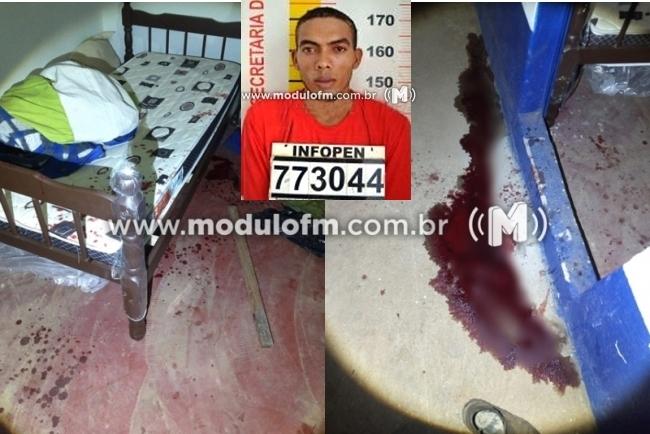 Homem que matou vítima a pauladas em Serra do...