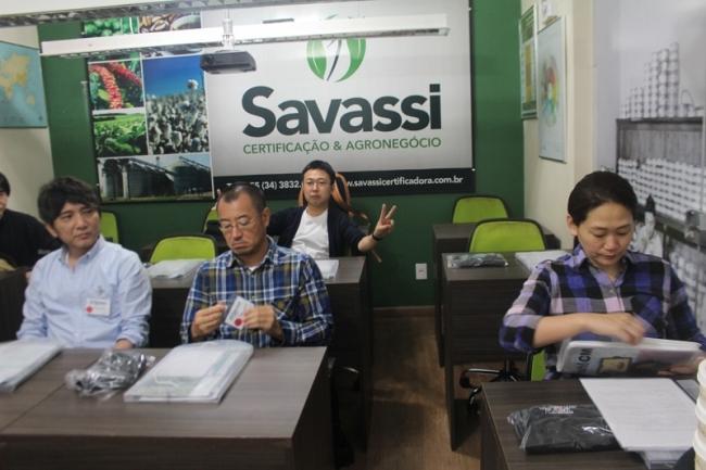Japoneses participam de curso de classificação e degustação de café na Savassi Certificação e Agronegócio