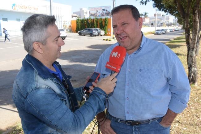 Prefeito realiza visita técnica com secretário na Avenida João Alves do Nascimento