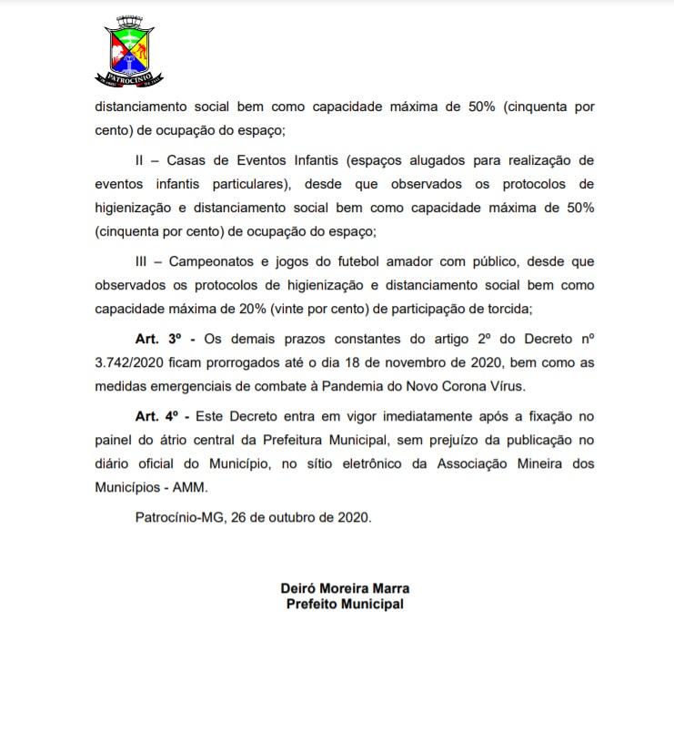 27-10-2020 Decreto 2 retomada