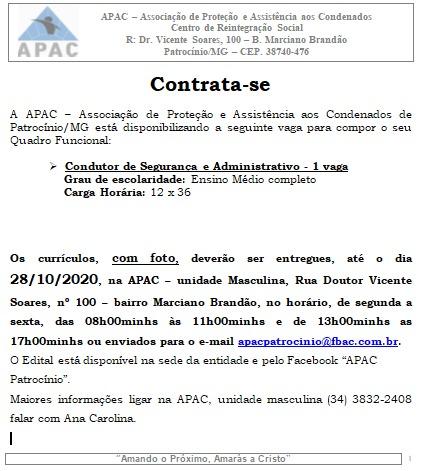 27-10-2020 Vaga APAC 1