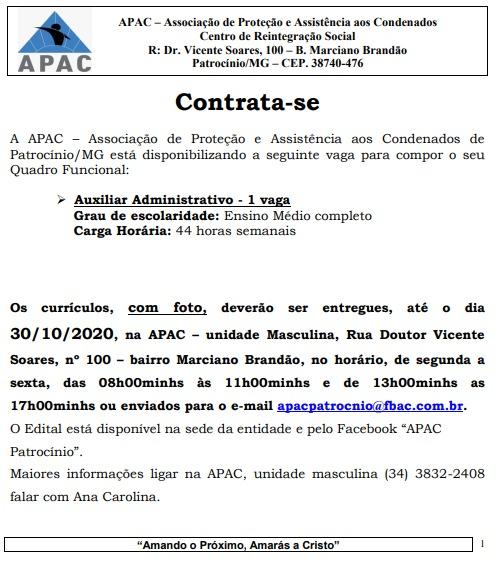 27-10-2020 Vaga APAC 2