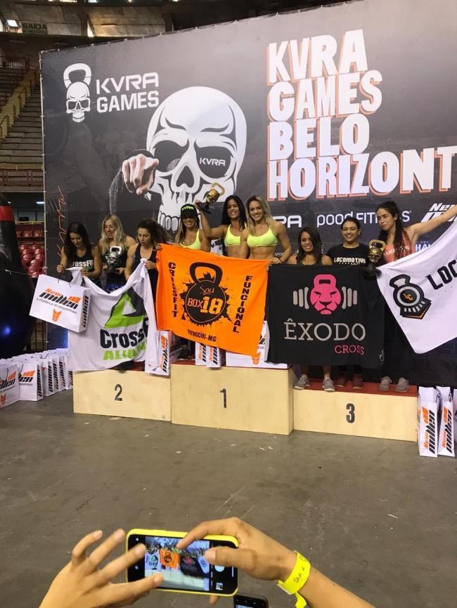 Atletas do Box 18 conquistam primeiro lugar no campeonato Kvra Games em Belo Horizonte