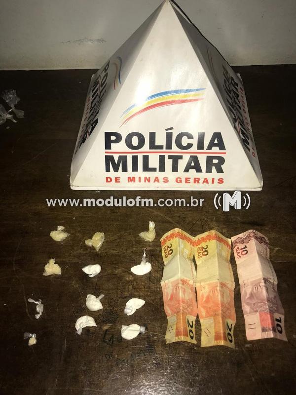 Dois menores são apreendidos com drogas no bairro Enéas