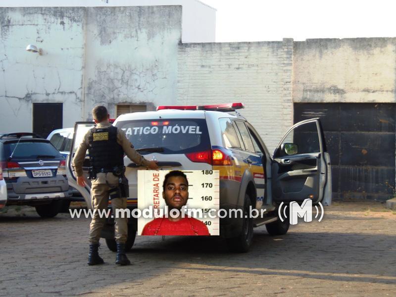 Golpista é preso na Caixa tentando sacar PIS com documento falso em Patrocínio