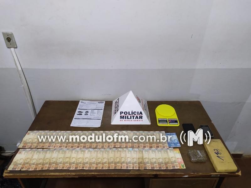 Homem que compraria drogas em Uberlândia é preso após chamar atenção de militar em rodovia