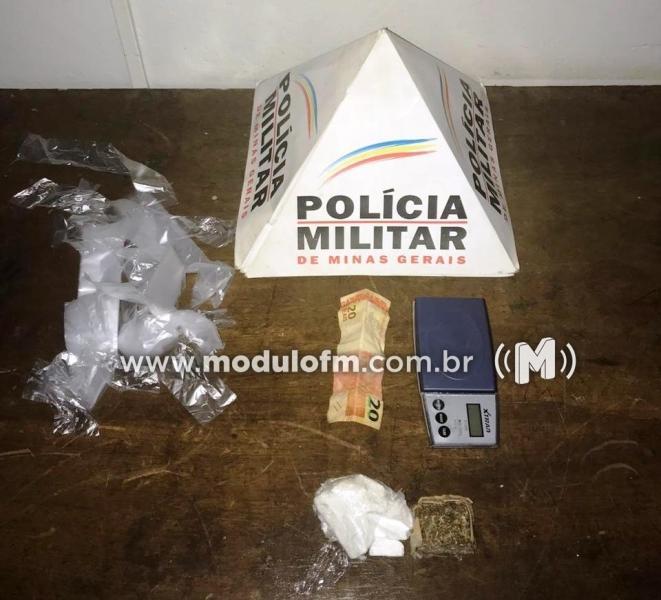 Denúncia anônima leva à prisão de suposto traficante no bairro Enéas