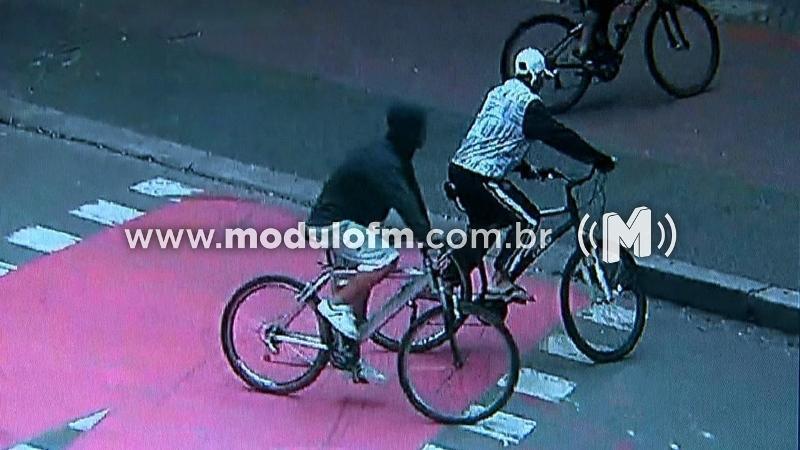 'Gangue da bicicleta' ataca pedestres para roubar celular e...