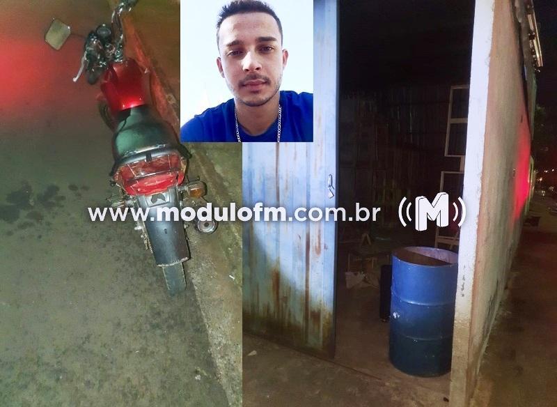 Jovem é alvejado e morto após apontar arma para policiais em Monte Carmelo