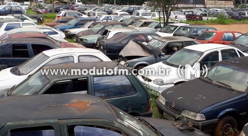 Pátio  credenciado do Detran é invadido e veículos são furtados em Guimarânia