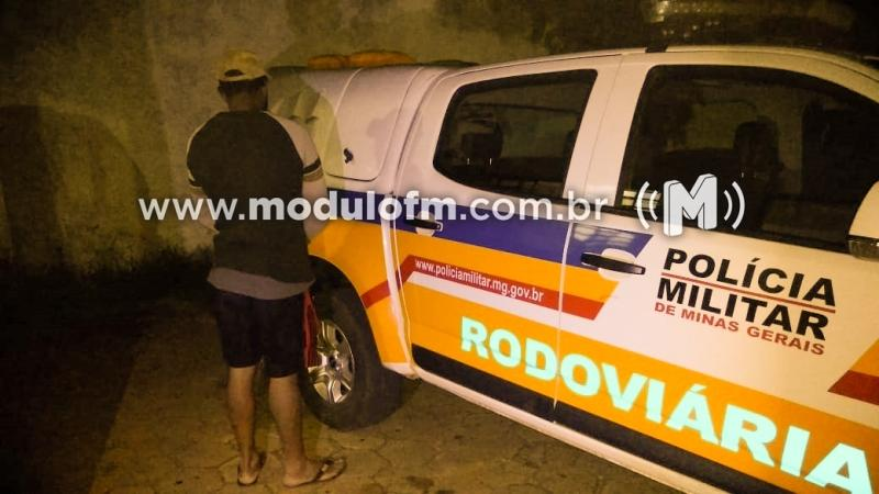 Polícia Militar Rodoviária prende foragido da Justiça em Patrocínio