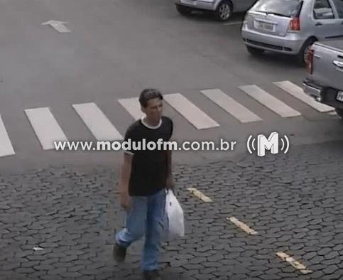 Imagem 1 do post Veja o vídeo: Bicicleta é furtada no estacionamento do Catiguá Tênis Clube