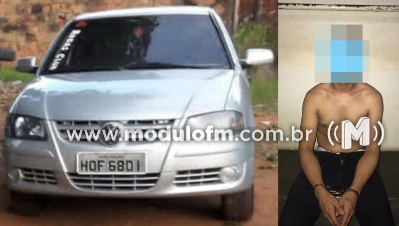 Criminoso é preso ao exigir dinheiro de resgate por veículo furtado