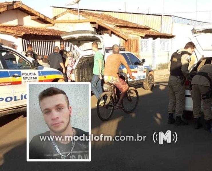 Foragido da Justiça morre após troca de tiros com a PM em Monte Carmelo
