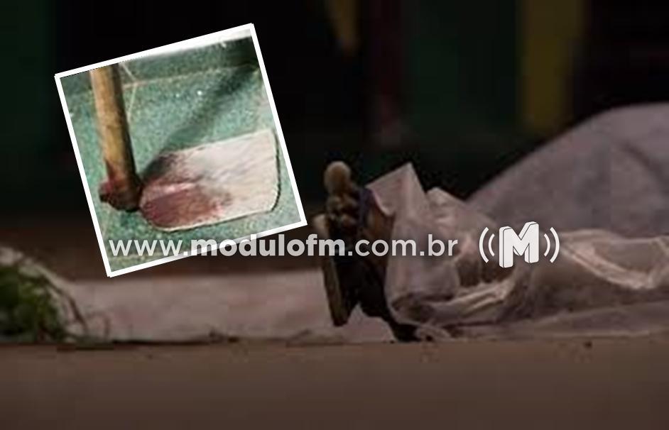 Idoso de 95 anos é encontrado morto com vários golpes de enxadão vítima de possível latrocínio em Estrela do Sul