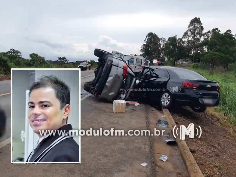Jovem patrocinense morre em grave acidente na BR-262 em Campos Altos