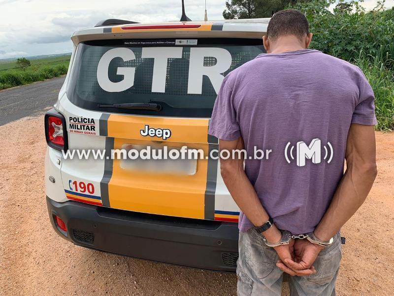 Mais um foragido da justiça é capturado pela Polícia Militar Rodoviária em Patrocínio