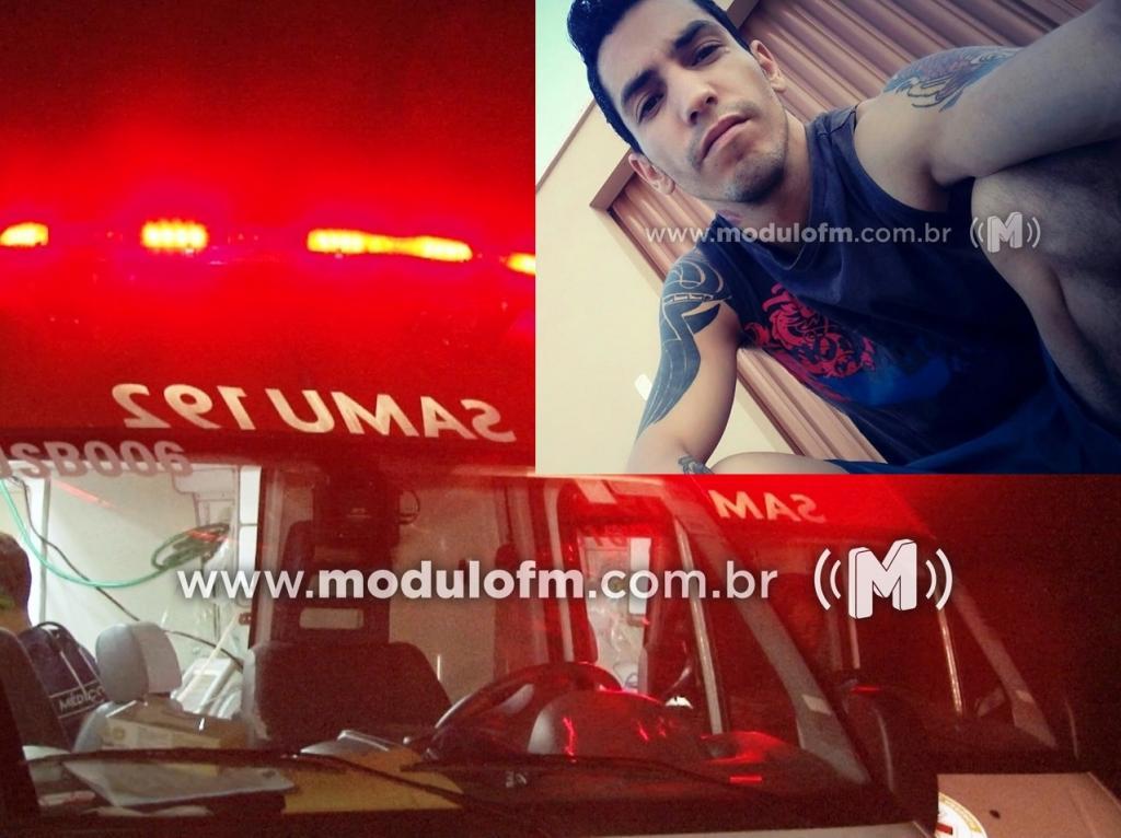 Motociclista morre após colidir em veículo e ser arremessado em Iraí de Minas