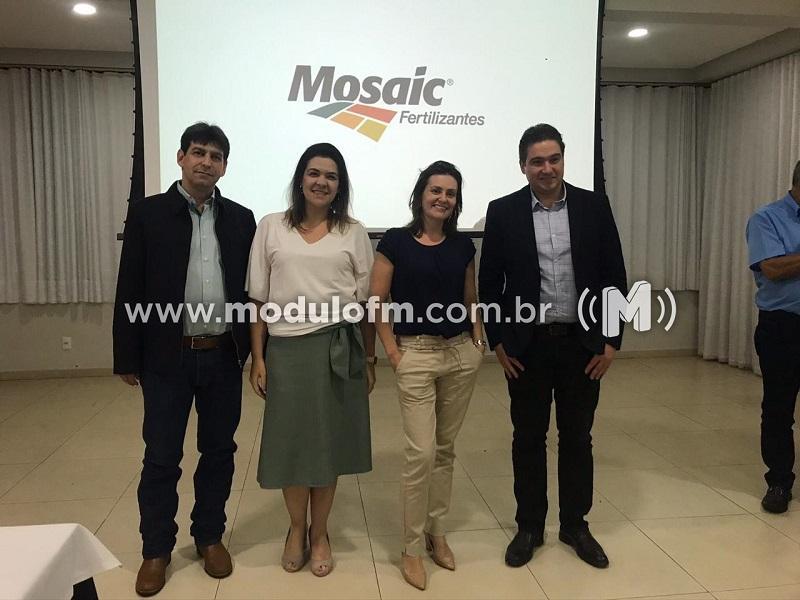 Mozaic Fertilizantes reúne imprensa e apresenta trabalhos da empresa em Patrocínio