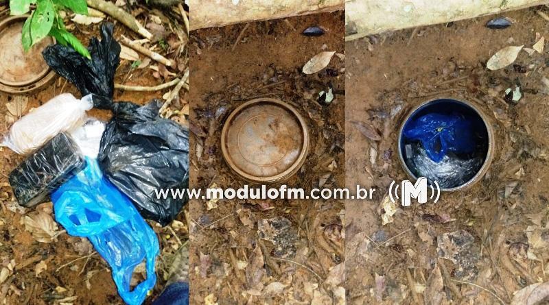 Polícia Civil encontra grande quantidade de drogas enterradas em Santa Luzia dos Barros