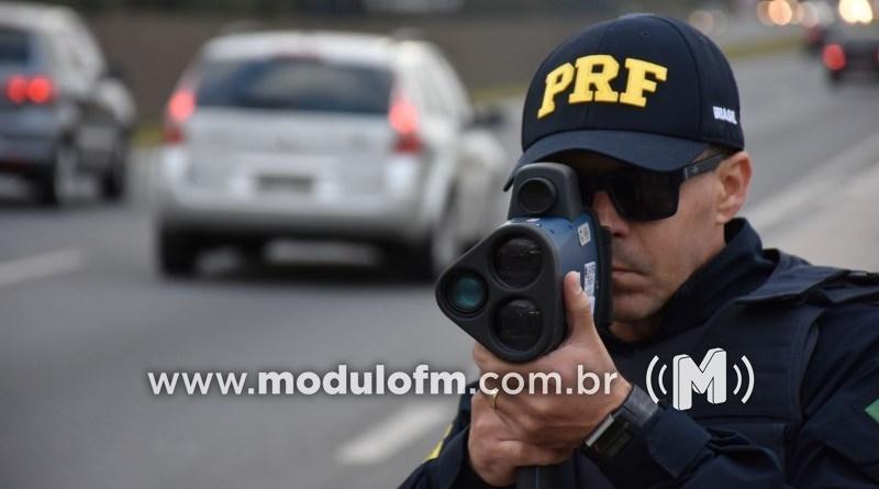 PRF reativa a fiscalização com uso de radares móveis e portáteis