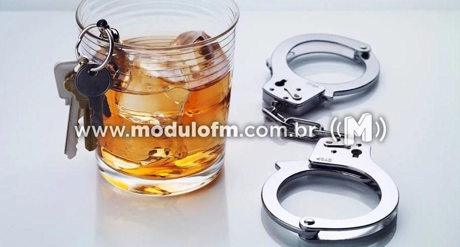 Se beber não ligue para a polícia. Em Serra do Salitre posse ilegal de arma de fogo leva homem à prisão