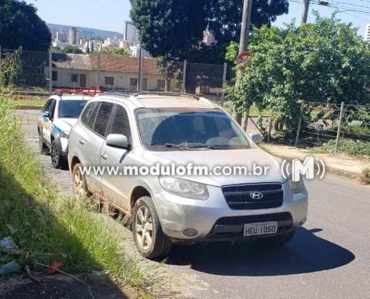 Veículo utilizado em tentativa de assalto que alvejou produtor rural é localizado