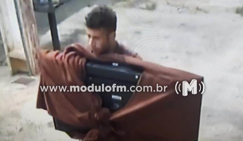 Veja o vídeo: Ladrão finge estar bêbado e furta residência no bairro Matinha