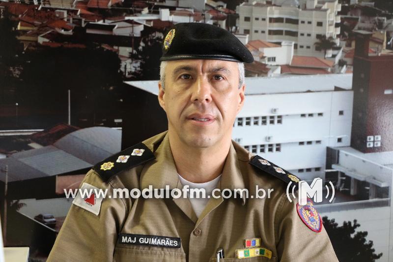 46° Batalhão da Policia Militar de Patrocínio tem novo subcomandante