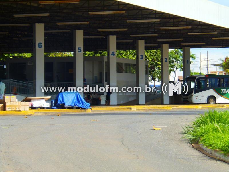 Foragido da Justiça é preso no terminal rodoviário de Patrocínio