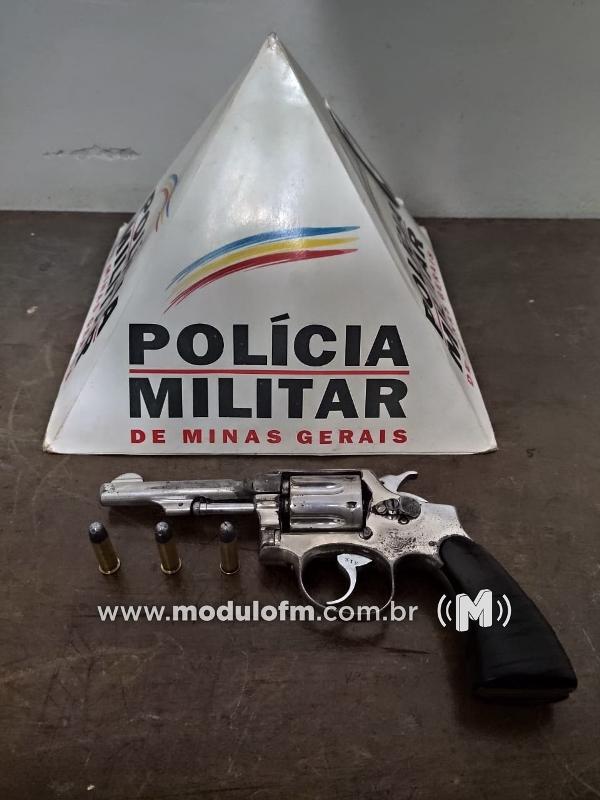 Homem armado é preso após denúncia anônima em Serra do Salitre