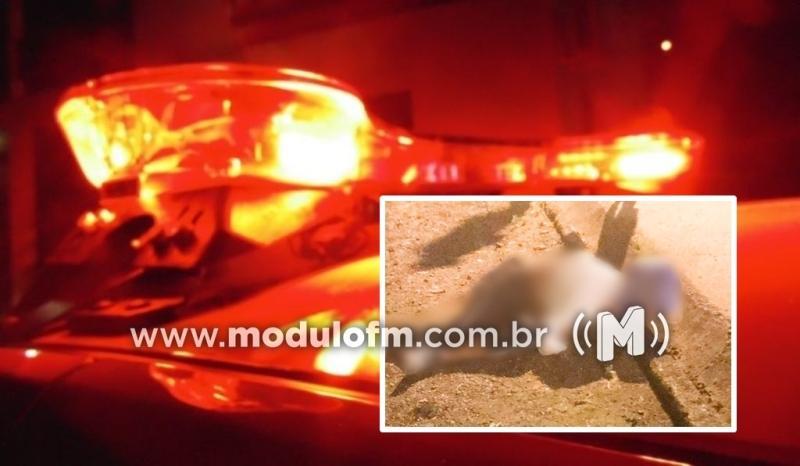 Homem com várias passagens pela Polícia morre em acidente em Ibiá