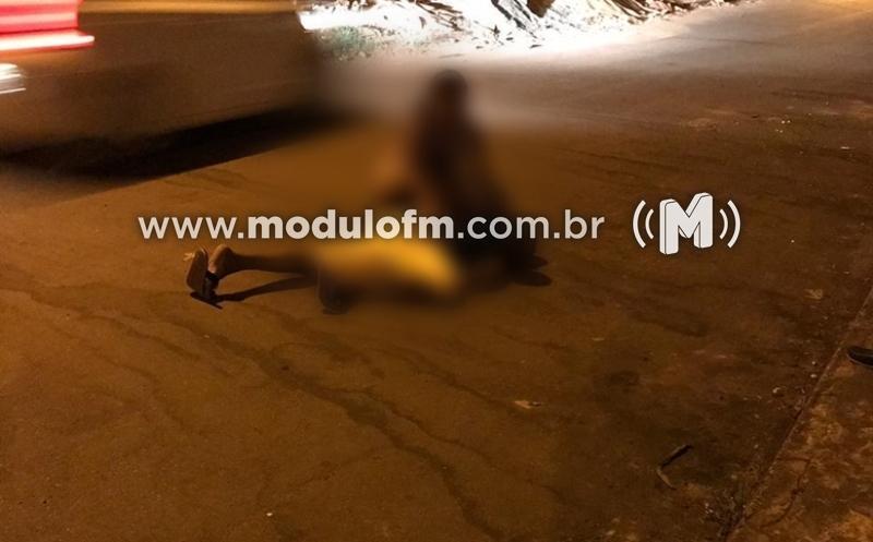 Homem tenta separar briga de casal é atingido a tiros em Celso Bueno