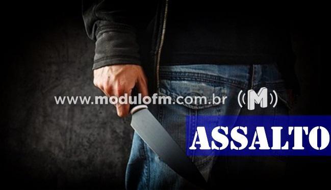 Ladrões assaltam comércio de Açaí e amarram as vítimas