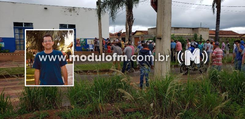 Latrocínio: Comerciante é assassinado por bandidos durante roubo em mercado