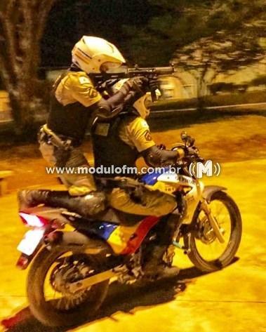 Passageiro de mototáxi é preso por suspeita de tráfico de drogas