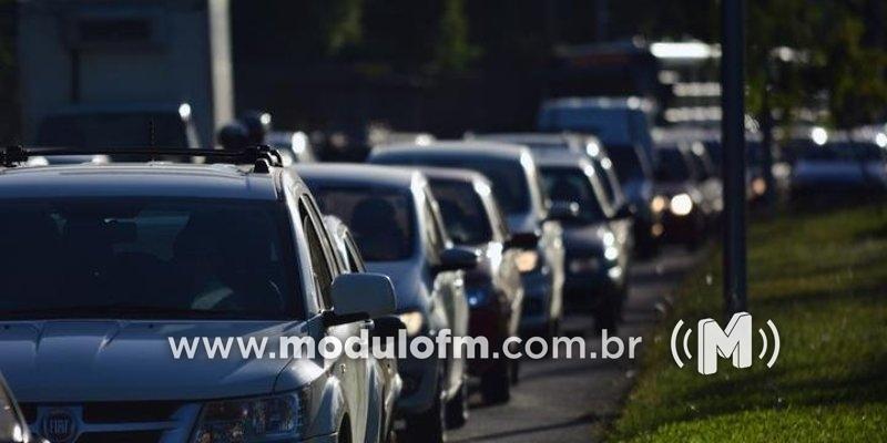 Quatro veículos  são furtados nos primeiros dias do ano em Patrocínio e região