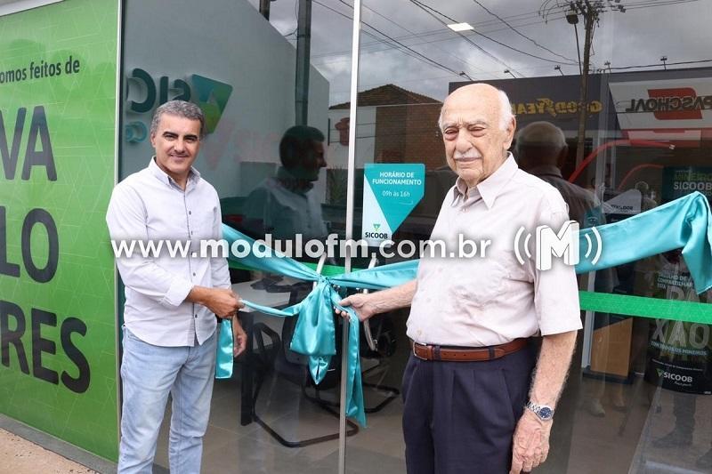 Sicoob Coopacredi inaugura novas agências em Minas e Goiás