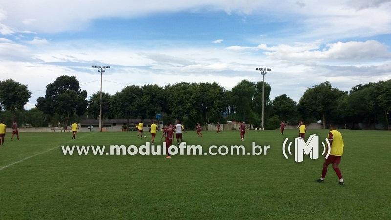 CAP realiza primeiro coletivo da semana em preparação para jogo contra o Cruzeiro