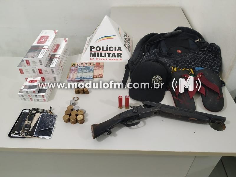 Dois criminosos são presos em flagrante durante assalto à Mercearia em Serra do Salitre