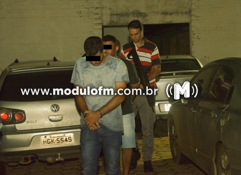 Veja o vídeo: Polícia Civil prende quatro suspeitos do latrocínio em Serra do Salitre