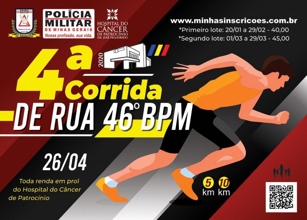 Polícia Militar lança 4ª Corrida de Rua do 46º...