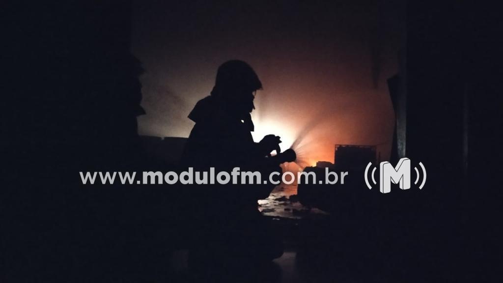Possível incêndio criminoso destrói vários moveis em residência na zona rural de Patrocínio