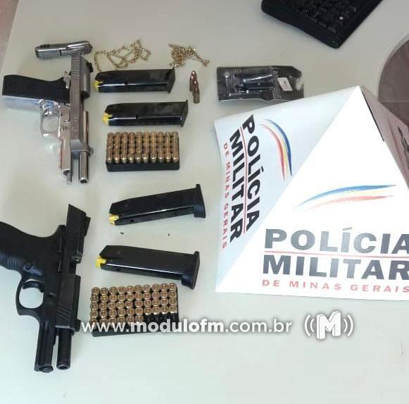 Ciganos são presos com armas e grande quantidade de munições